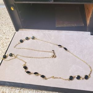 Black and Gold JCrew Necklace